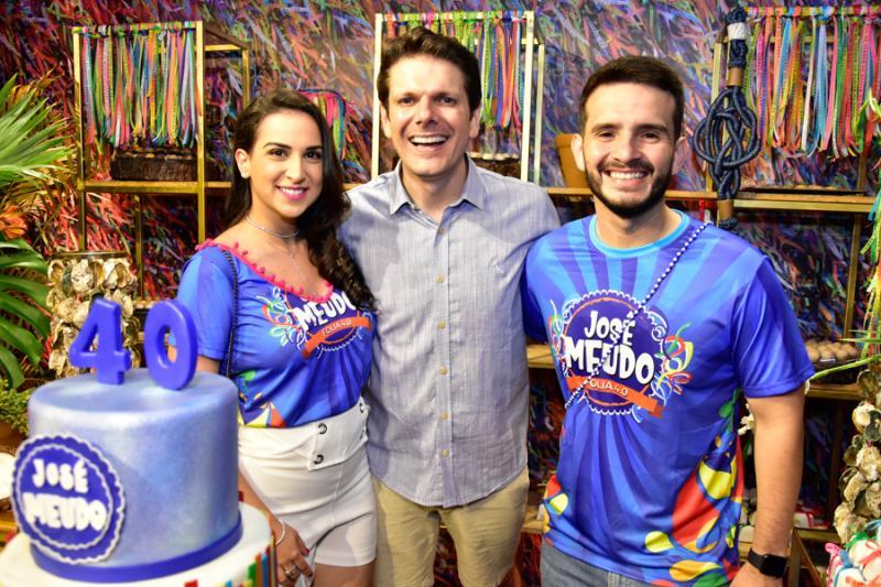 Mariela Machado, Jose Meudo e Patricio Teixera
