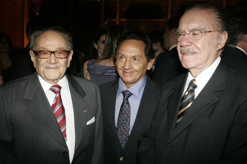 Paes de Andrade, Fernando Cesar Mesquita e Jose Sarney