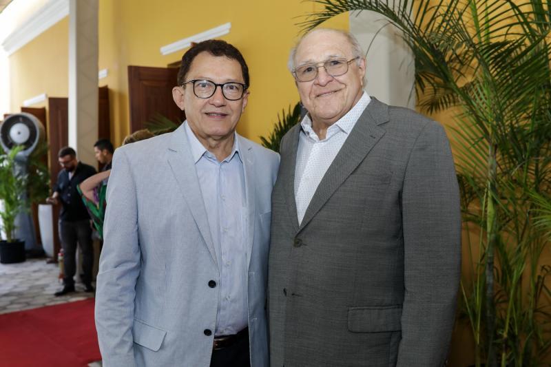 Elpidio Nogueira e Luis Marques