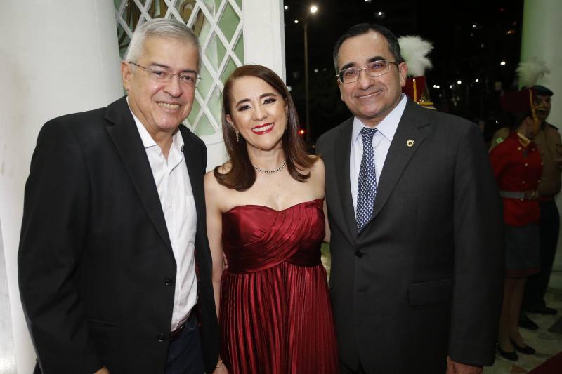 PC Noroes, Fatima Goncalves e Jardson Cruz
