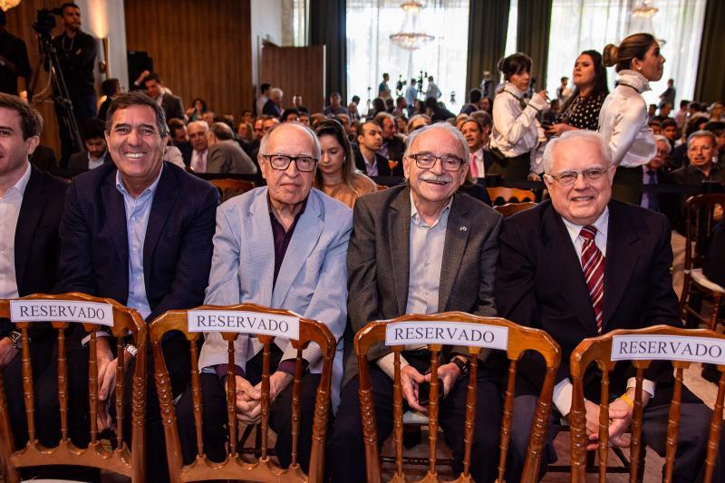 Luiz Gastao Bittencourt, Lucio Alcantara, Ednilton Soarez e Gonzaga Mota