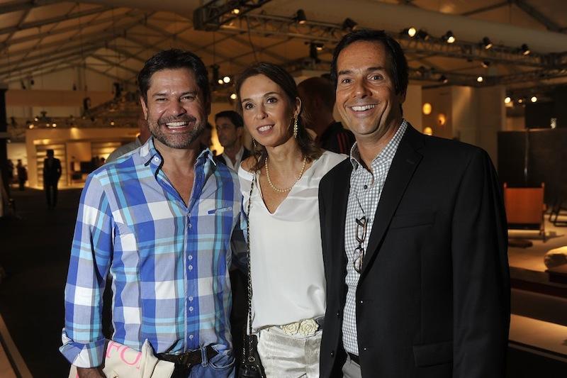 Eduardo Garcia, Esther Schattan e Luiz Bick