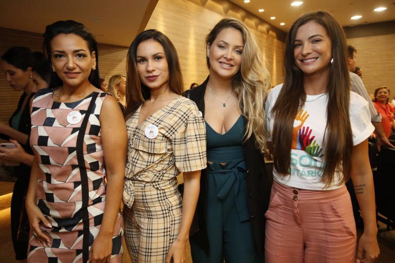 Angelica Monteiro, Nara Nuth, Ive Burtterfly Mendes e Aline Kemp