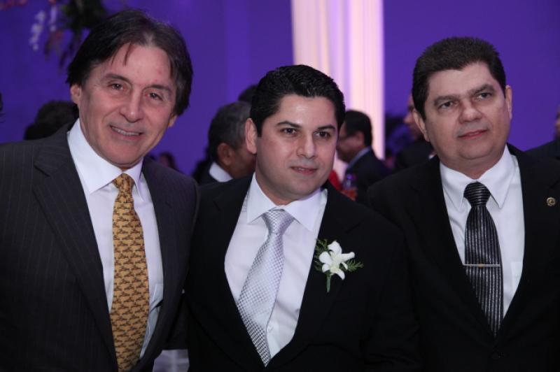 Eunicio Oliveira, Pompeu Vasconcelos e Mauro Filho