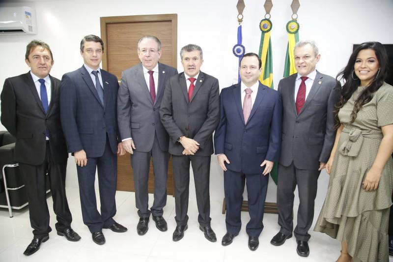 Adail Junior, Andre Siqueira, Ricardo Cavalcante, Antonio Henrique, Igor Barroso, Jose Sarto e Priscila Costa