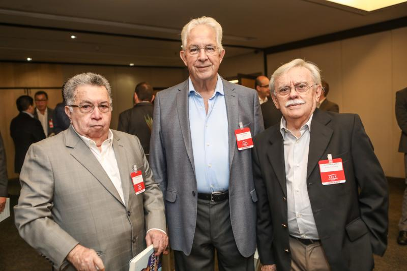 Evilazio Ribeiro, Carlos Prado e Raimundo Padilha