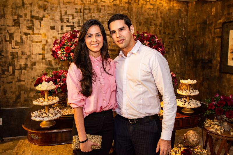 Natalia Mendes e Jaime Alencar