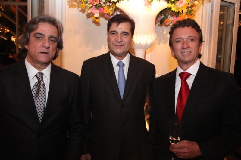 Ernesto Saboia, Joao Jaime Marinho e Erivaldo Arraes