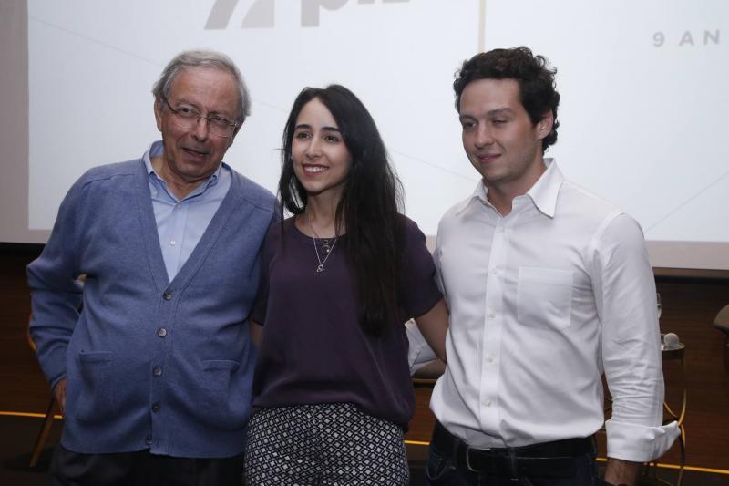 Luiz Alves, Betina Roxo e William Cordeiro 2