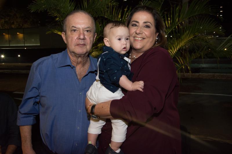 Alberto Oliveira, Ana Melo e Benjamin Oliveira