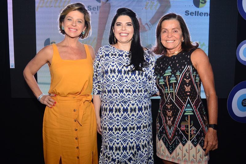 Cristina Wolff, Sellene Camara e Hedla Lopes
