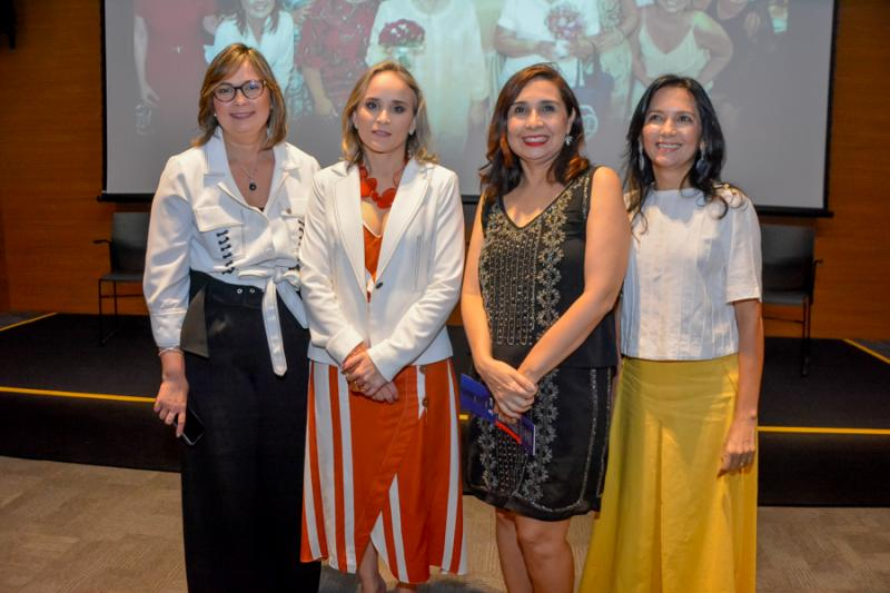 Renata Santiago, Fernanda Pacobahyba, Neila Fontenele e Aureneide Lemos