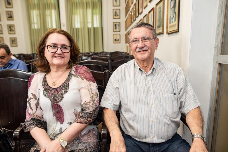 Teresa Chaves e Humberto Ellery