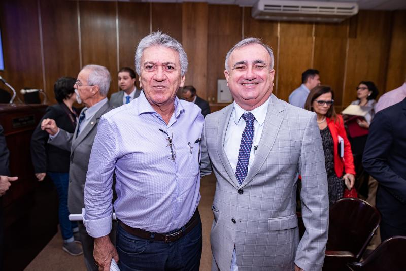 Cloves Nogueira e Roberio Carvalho
