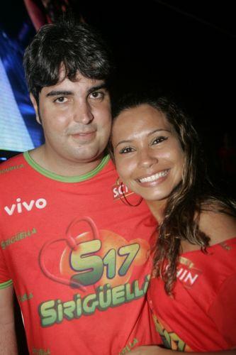 Rodrigo Limaverde e Raquel Meira