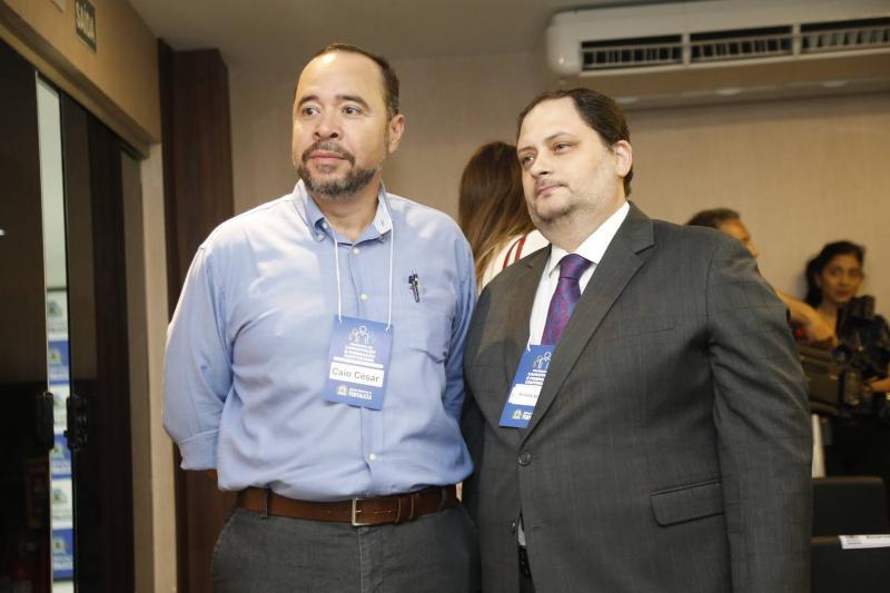 Caio Cesar e Reinaldo Salmito