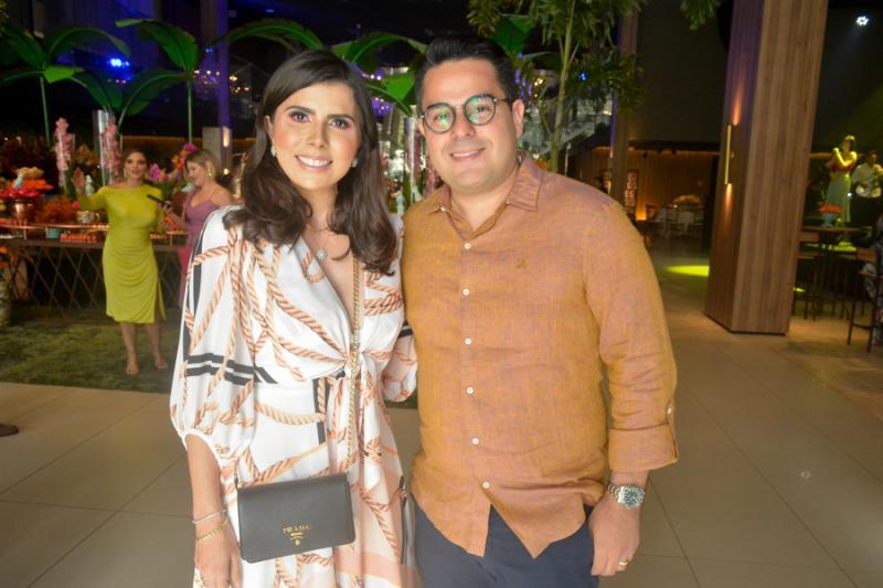 Janaina Pinheiro e Alberto Bernal