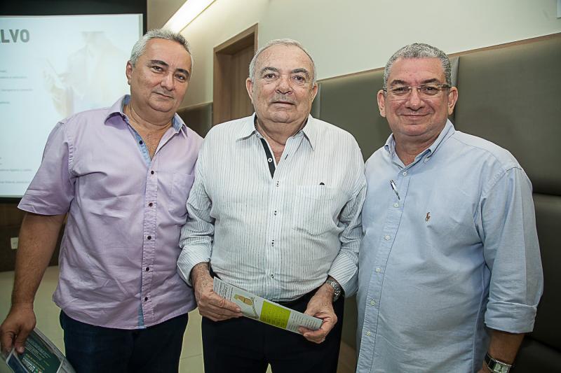 Francisco Pontes, Julio Santiago e Marcelo Maranhao