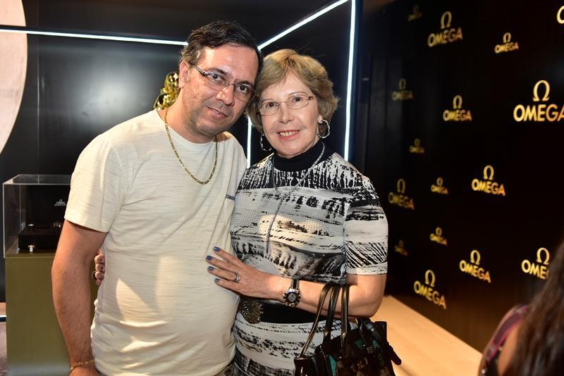Luiz Ernesto e Onira Silveira