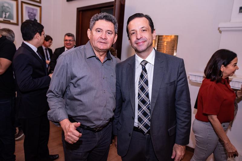 Francisco Everton e Fred Albuquerque