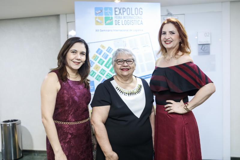 Lina Sales, Gloria Ribeiro e Enid Camara