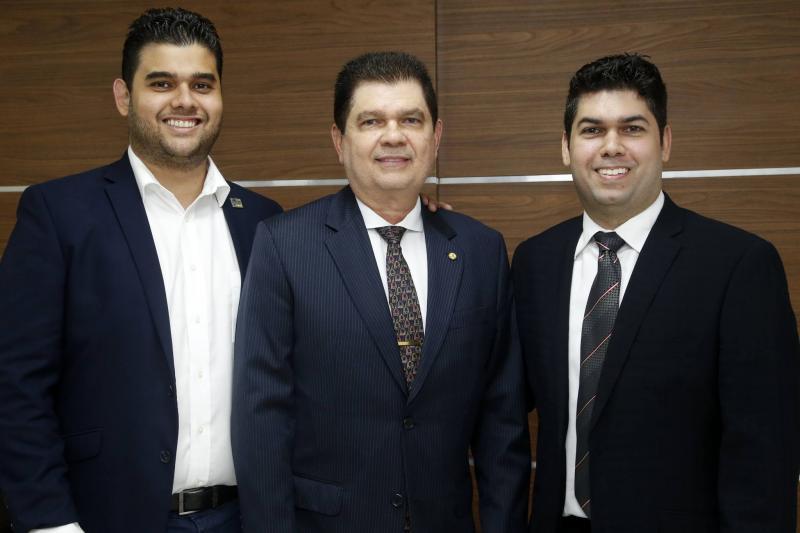 Davi, Mauro Filho e Mauro Benevides Neto 1