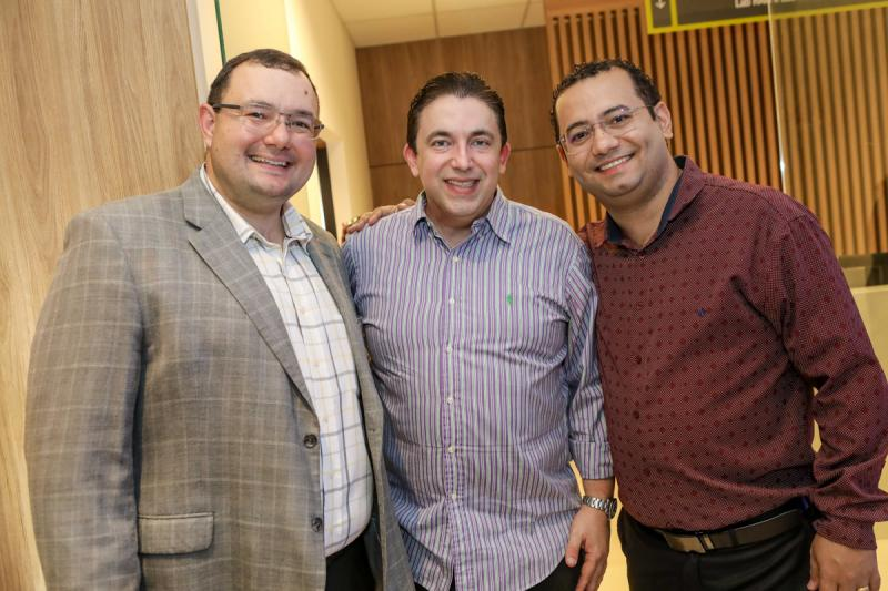 Mosiah Torgan, Rodrigo Pereira e Anderson Carvalho
