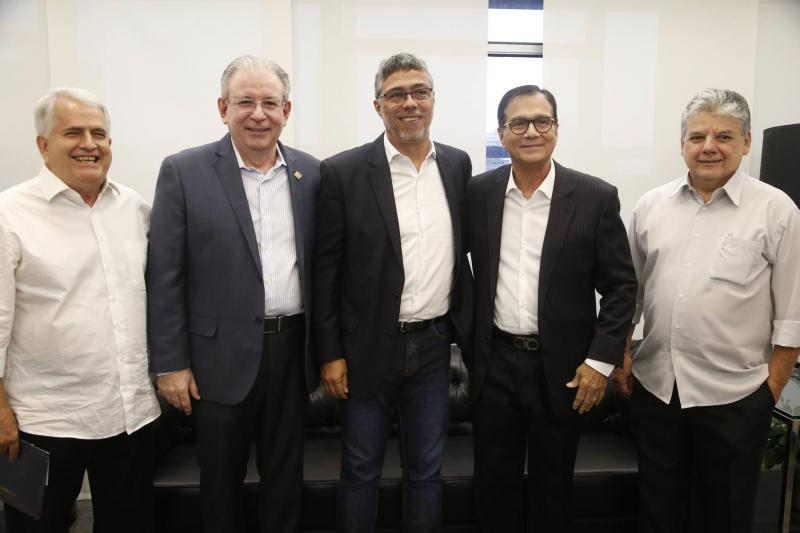 Jose Antunes, Ricardo Cavalcante, Ricardo Petral, Beto Studart e Chico Esteves