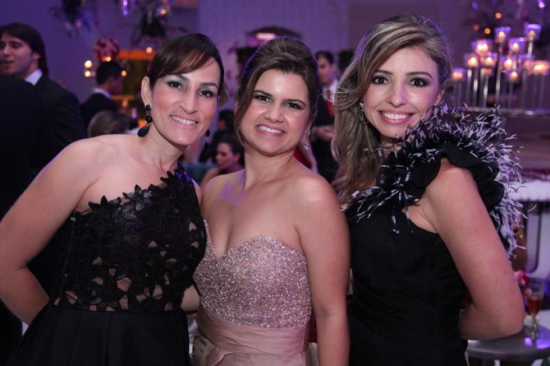Bianca Meneleu, Ticiana Brigido e Daniela Peixoto