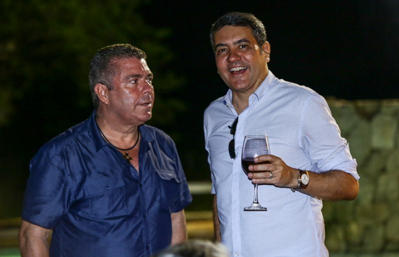 Ricardo Studart e Eduardo Morais