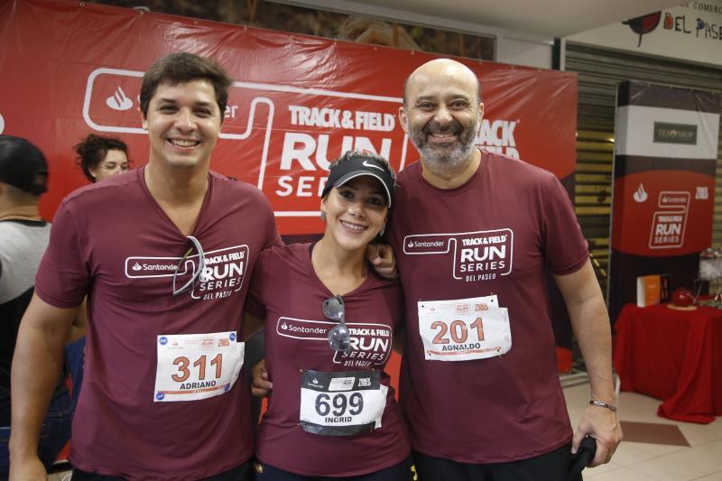 Adriano Almeida, Ingrid Lima e Agnaldo Rocha