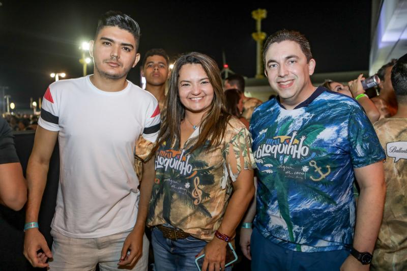 Adalberto Marreiro, Gigi Passos e Rodrigo Pereira