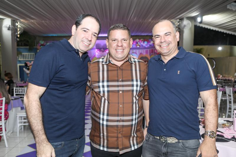 Beto Torres, Gerardo Santos e Gustavo Menezes