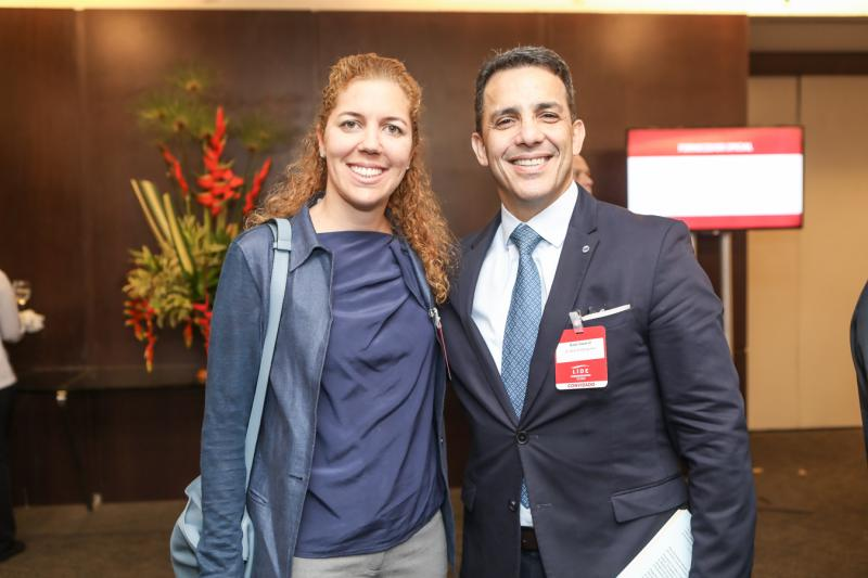 Ticiana Queiroz e Raul Amaral