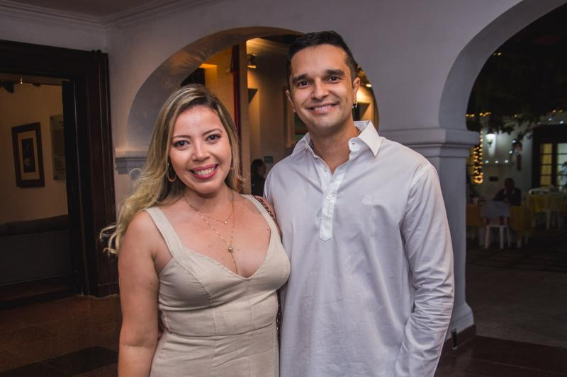 Clarissa Garcia e Paulo Bessa