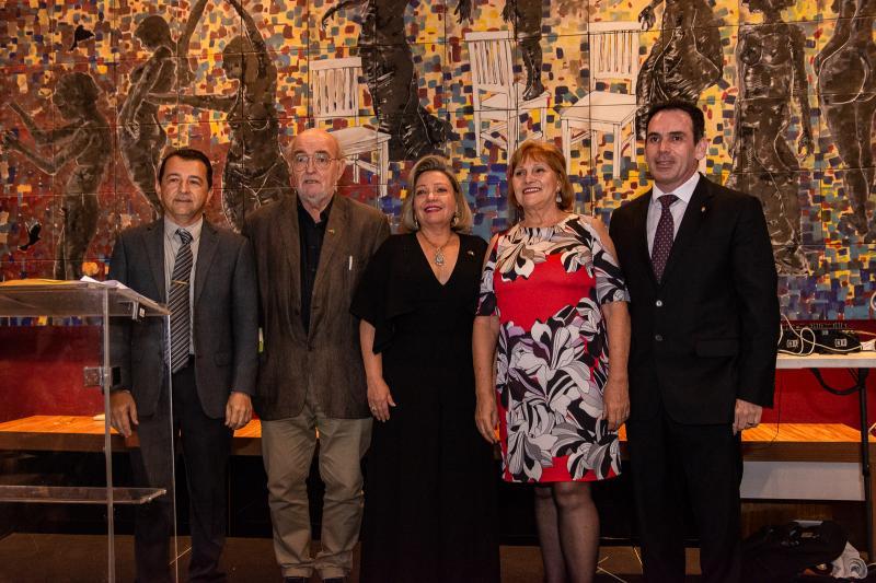 Roberto Marinho, Hans Juergen, Fernanda Carapeba Jensen, Reinhilde Lima e Janos Filho