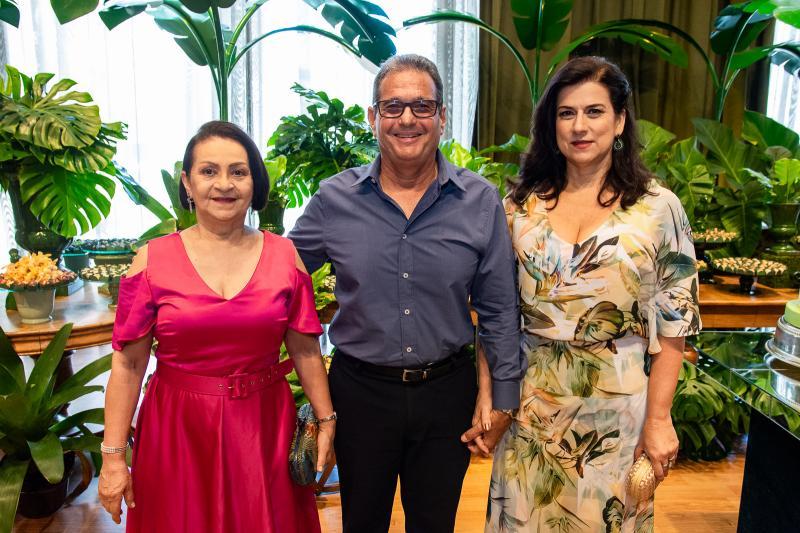Iris Lima, General Gomes de Matos e Sandra Gomes de Matos