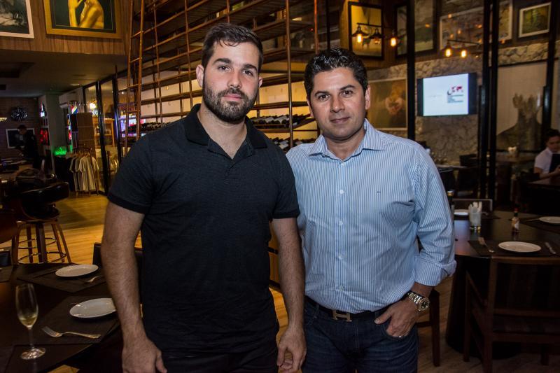 Felipe Rocha e Pompeu Vasconcelos