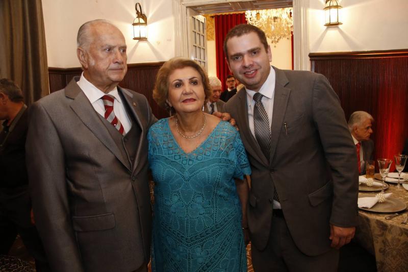 Paulo Barbosa, Ester Castro e Paulo Barbosa Neto