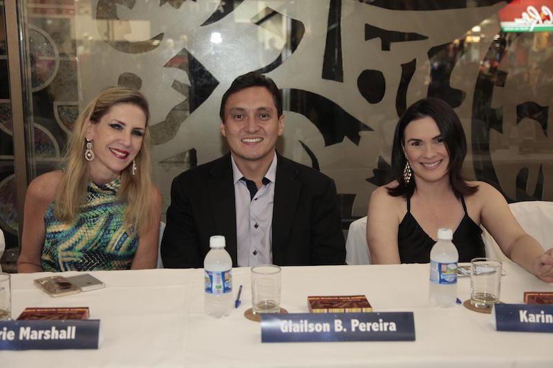 Marjorie Marshall, Glailson Pereira e Karine