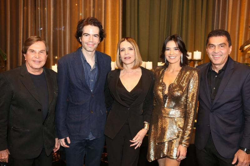 Lazaro Medeiros, Luiz Fernando Coutinho e Liegy Monteiro, Maryana e Idezio Rolim