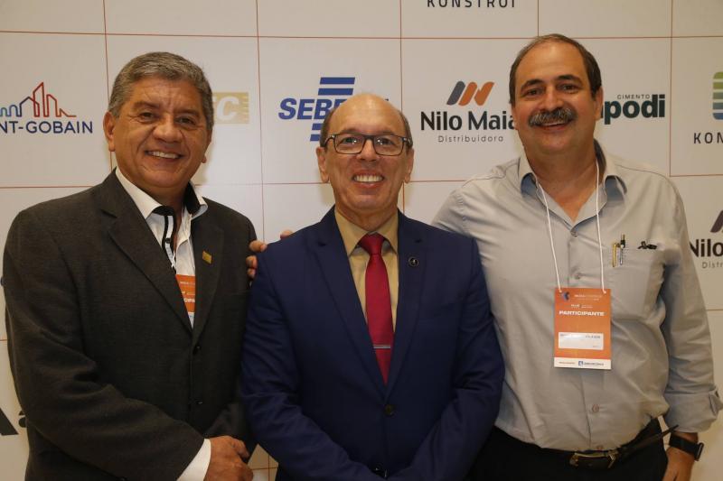Jose Sampaio, Andre Montenegro e Paulo Andre Holanda