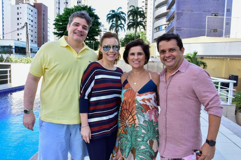 Mauricio e Patricia Benevides, Micheline e Germano Albuquerque