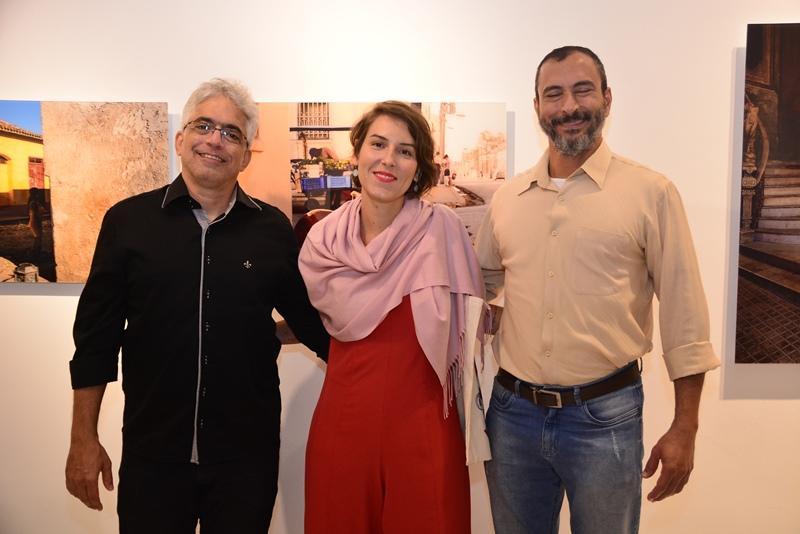 Marcelo Nicolau, Nataja Vidal e Dario Nicolau