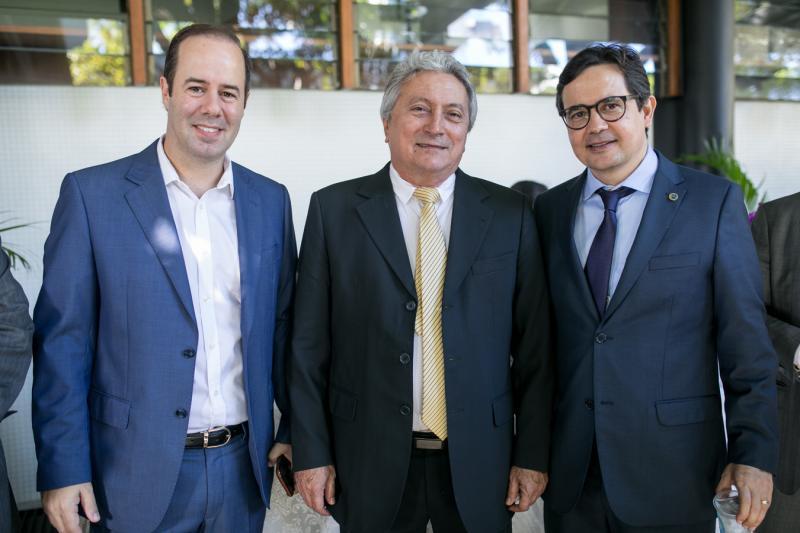 Cesar Ribeiro, Euvaldo Bringel e Edilberto Pontes