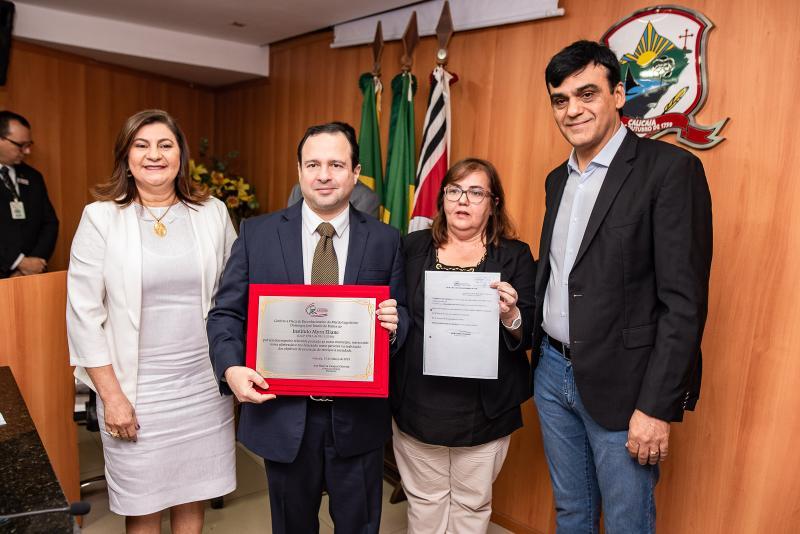 Natercia Campos, Igor Queiroz Barroso, Germana Sales e Naumi Amorim