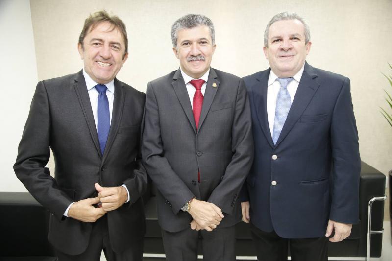 Adail Junior, Antonio Henrique e Jaime Cavalcante