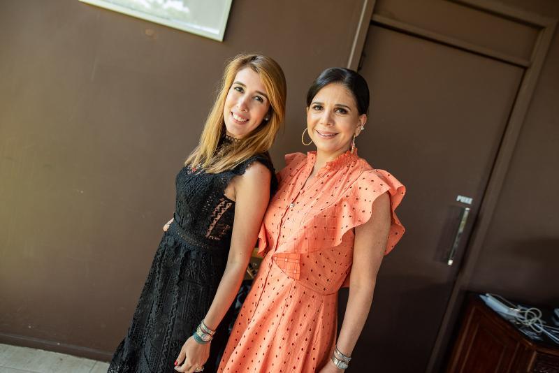 Raquel Machado e Maria Lucia Negrao