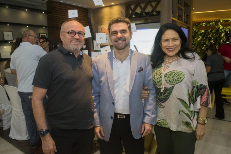 Vando Figueiredi, Isaac Furtado e Lucia Penaforte