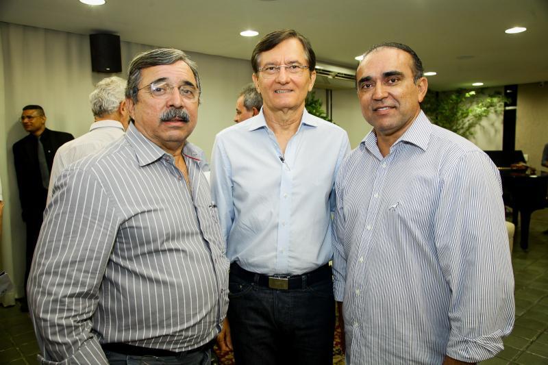 Sergio Ferreira, Helio Perdigão e Marcos Vinicius